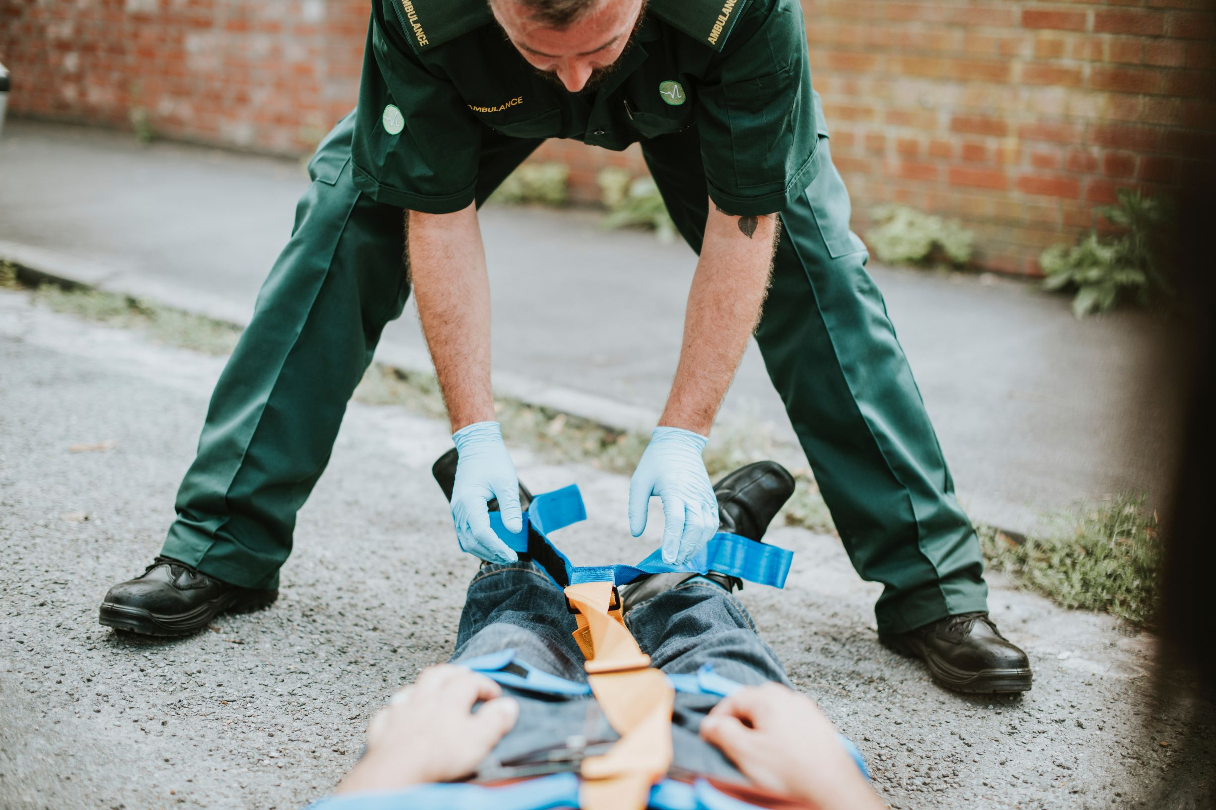 first aid officer
