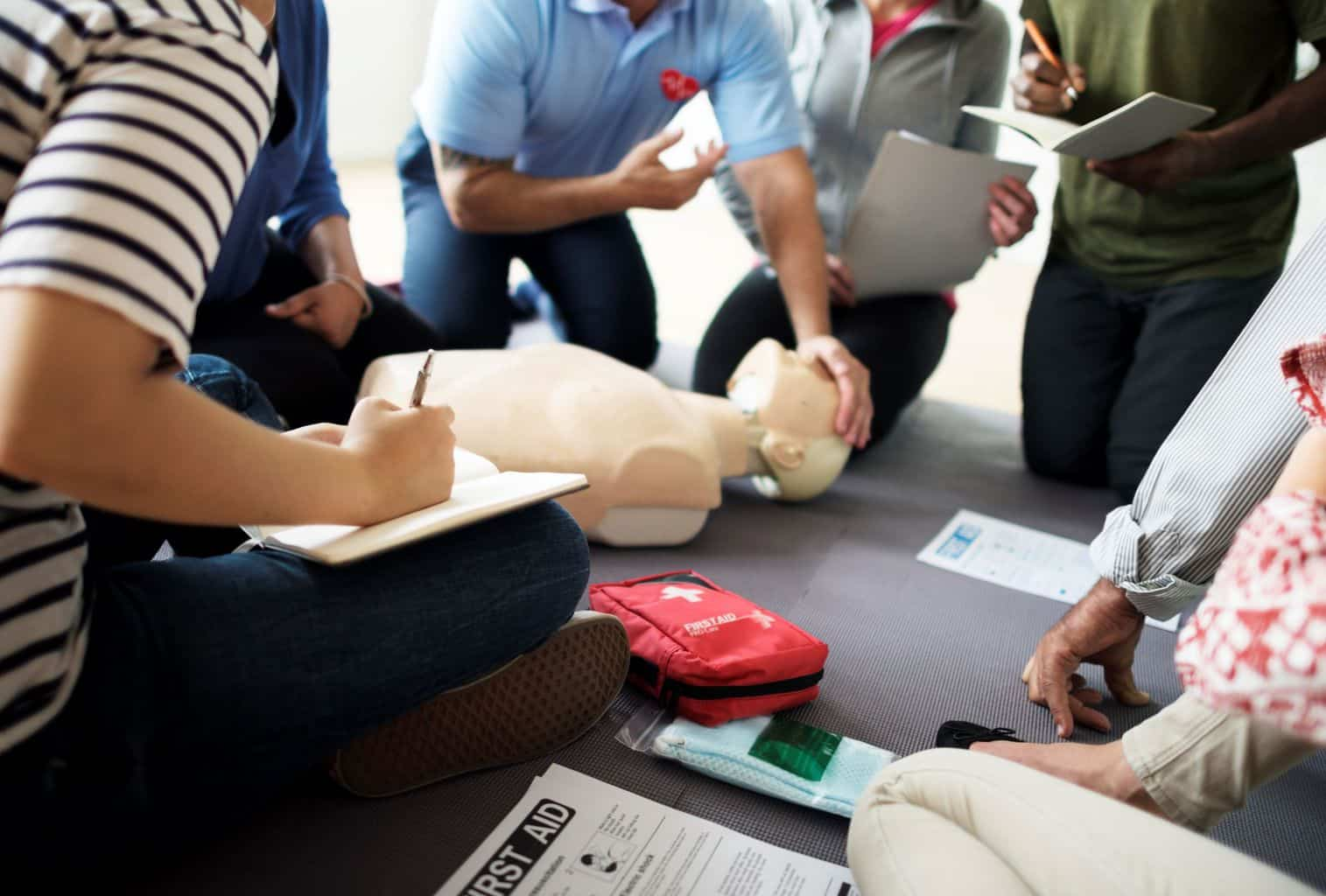 first aid training job