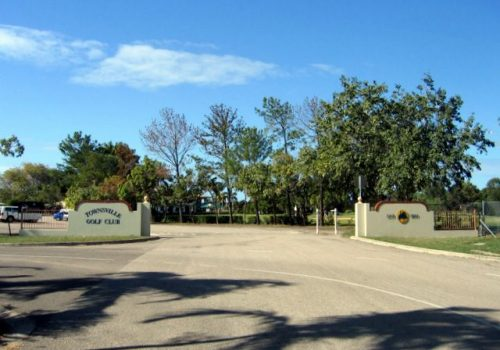 Townsville Golf Club entrance